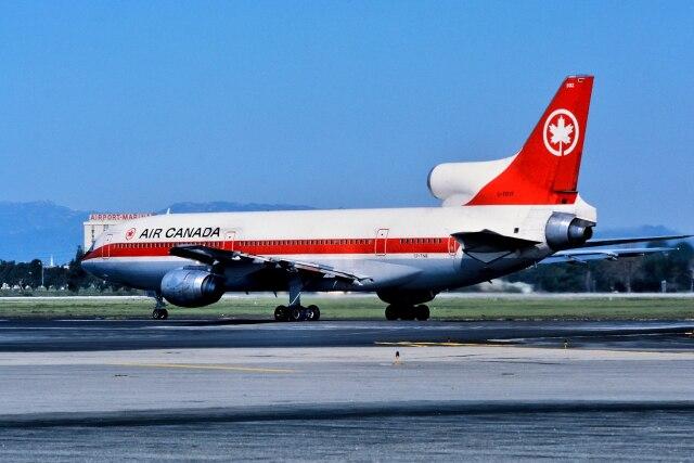 エア・カナダ Lockheed L-1011 TriStar CF-TNB ロサンゼルス國際空港 航空フォト | by パール大山さん 撮影1980年03月16日