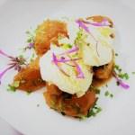 Karamellisierte Aprikosen Dessertkräuter