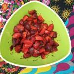 Saisonfrüchte  mit 7 Dessertkräutern kombinieren …