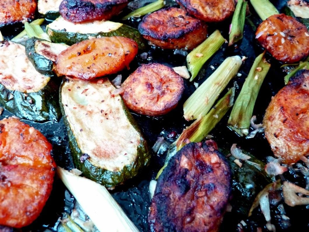 Kochbananen Zucchini Ingwer 2