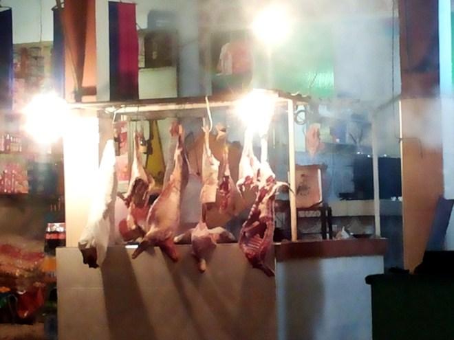Fleisch am Hacken 2