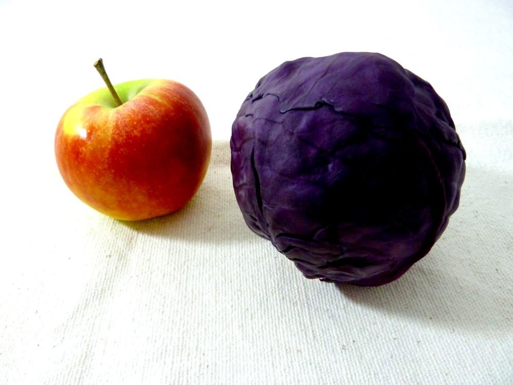 Rotkohl Apfel 2