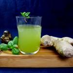 Buddha´s Ingwer-Zimtbasilikum-Cocktail