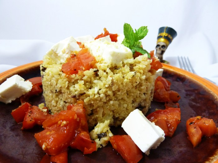 Surreal Food Pairing: Blumenkohl Couscous
