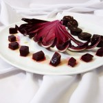 Zartbitter und edel: Trevisaner Radicchio mit Granatapfel Balsamicodressing