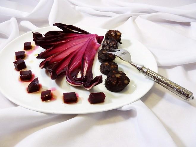 Trevisaner Radicchio|Rote Beete | Schwarzwurst