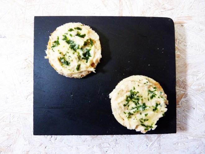 Weisse Bohnen Hummus Salbei 1 o