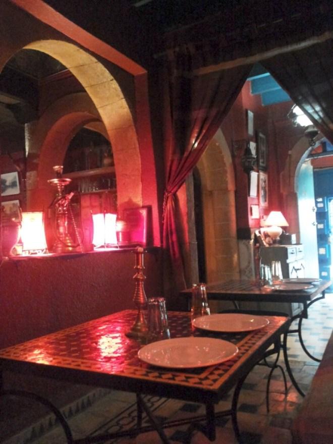 Restaurant Ramses in der Medina von Essaouira: Schmackhafte Tajine Gerichte a la carte