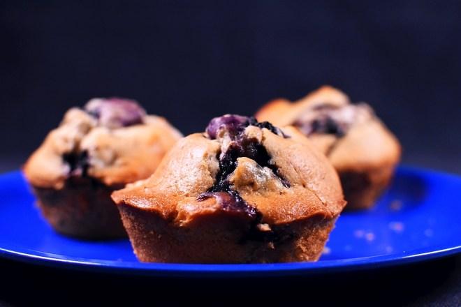 Muffins Blaubeere Weisse Schokolade Lavendel 3