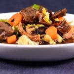 Miso Suppen Style: Rinderwade |Gemüse |Nori |Olivenblätter