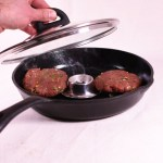 """DIY Smoker-Pfanne Olivenblätter: Burger """"Oriental Style"""""""