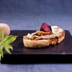 Vegan mediterraner Brotaufstrich: Aubergine | Pilze |Zitronenverbene