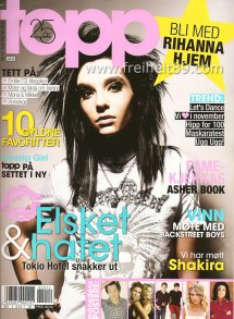 Tokio Hotel In Norwegian Topp 12 2009 Freiheit89crew