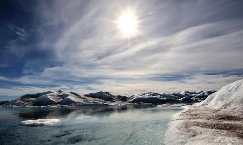 Traumhafte Eislandschaften