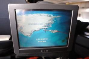 Anflug üfer Island