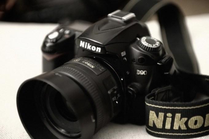 D90 mit Festbrennweite Nikkor 35mm/1.8