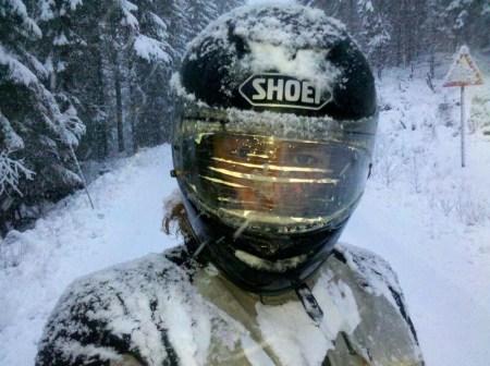 Es schneit in Schweden