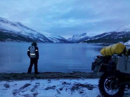 Traumhafter See zur Abendstunde