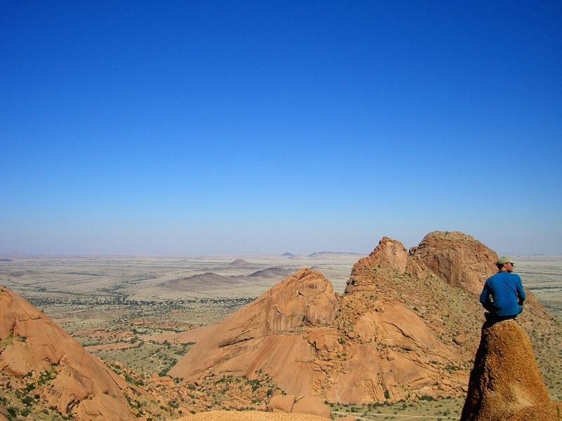 Ausblick in Namibia