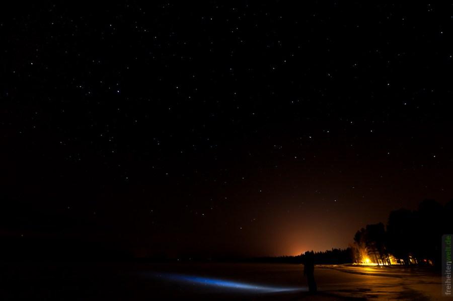 Blick in die Nacht