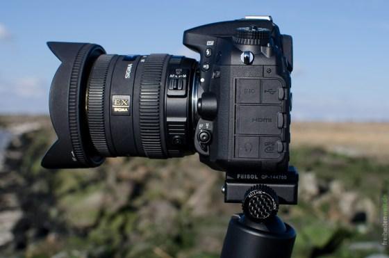 Nikon D7100 mit Sigma 10-20 Weitwinkelobjektiv