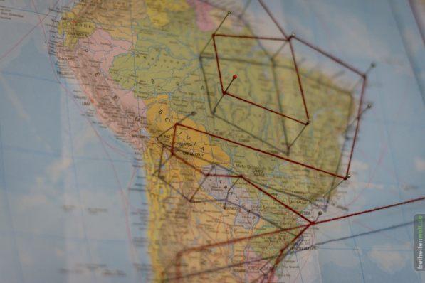Südamerika Reiseroute Martin Leonhardt