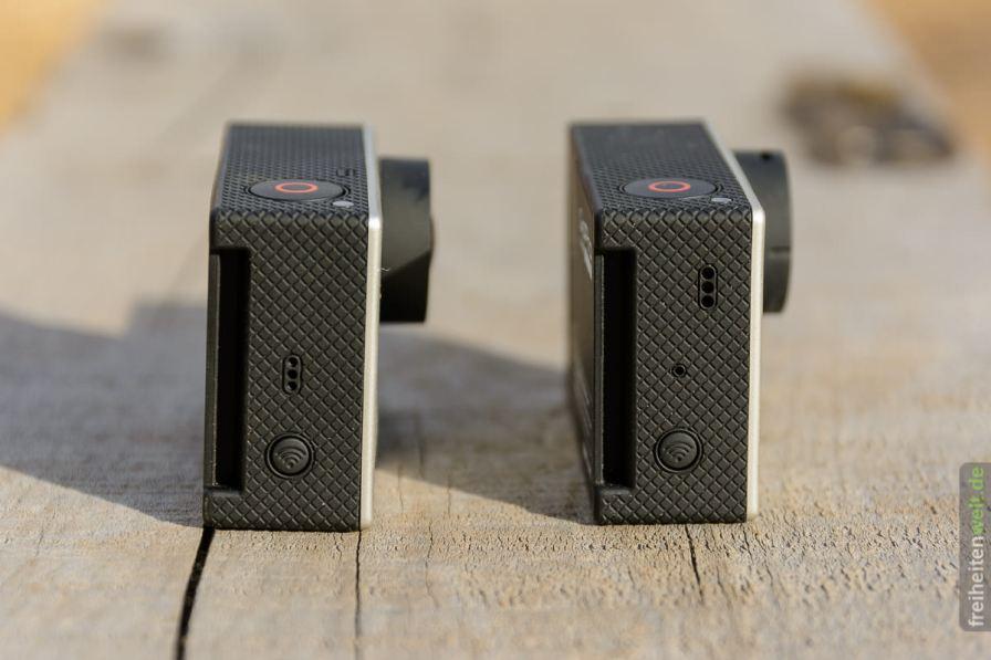 GoPro 3x rechts