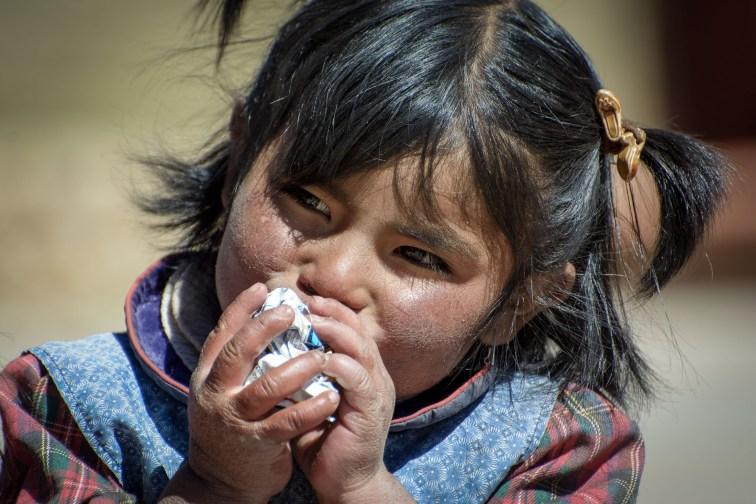 Mädchen Bolivia