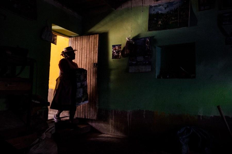 Schatten im Zimmer