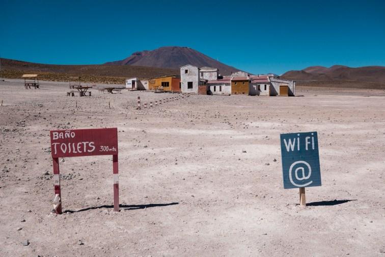 Wifi in der Wüste