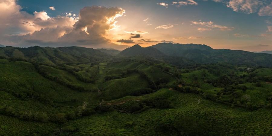 Panorama Regenwald - Chiapas