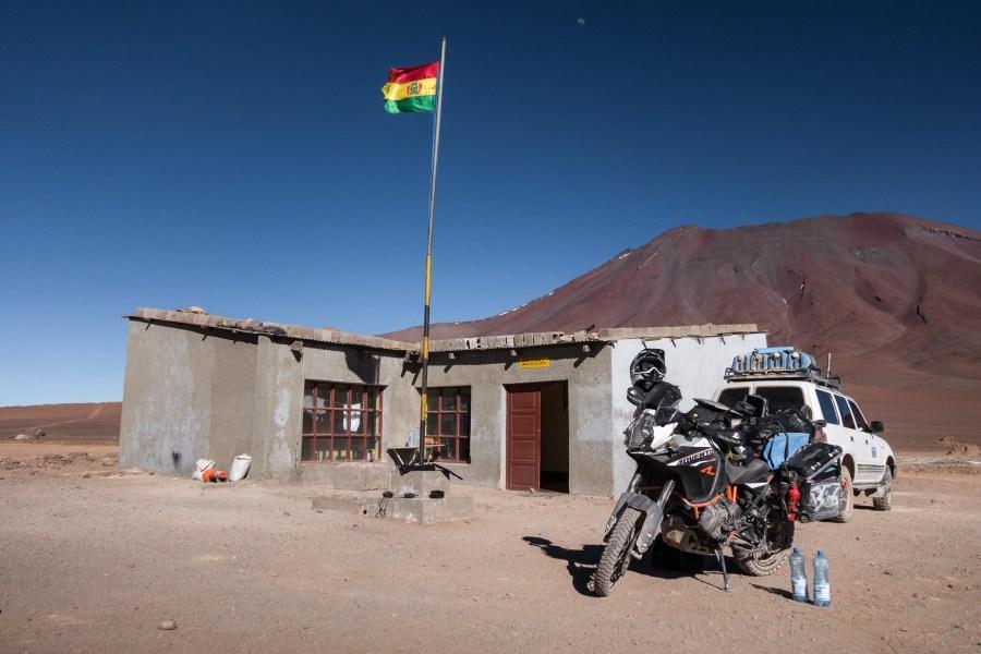 Anfahrt Altiplano