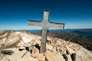 Gipfelkreuz Aneto