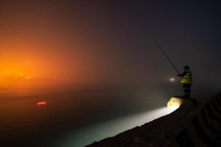 Fischer am Meer