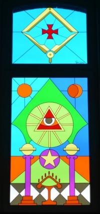 Bleiglasfenster  FreimaurerWiki