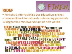 Ridef vergadering in Leuven @ af te spreken met wie komt