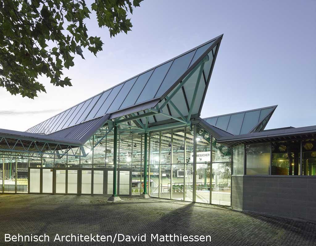 Architekturbüro Sindelfingen glaspalast sindelfingen wurde saniert freiraumarchitektur