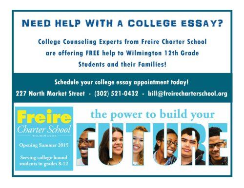 Freire Wilmington College Essay Help