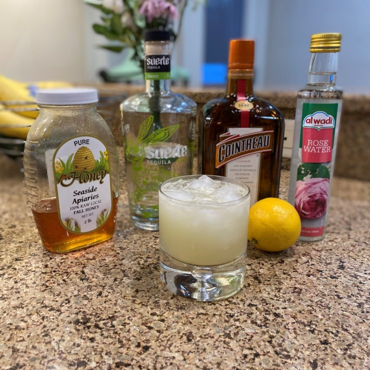 Honey Rose Margarita