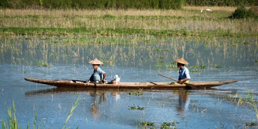 Myanmar - Inle See - Langboot