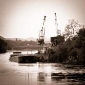 Rheinfelden - Alter Rheinhafen retro