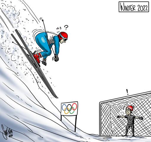 Katar - Fussball WM der FIFA vs. Olympsiche Winterspiele 2022