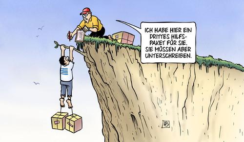 3. Hilfspaket für Griechenland