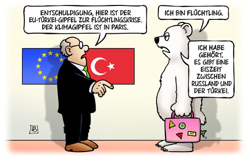 Flüchtlingskrise EU/Türkei oder Klimagipfel?