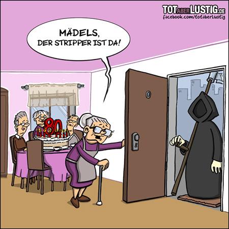 Der Tod als Stripper