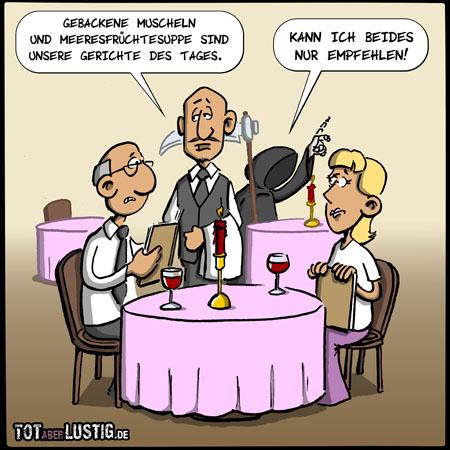 Gericht des Tages