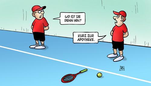 WTA: Doping im Frauentennis (Scharapowa)