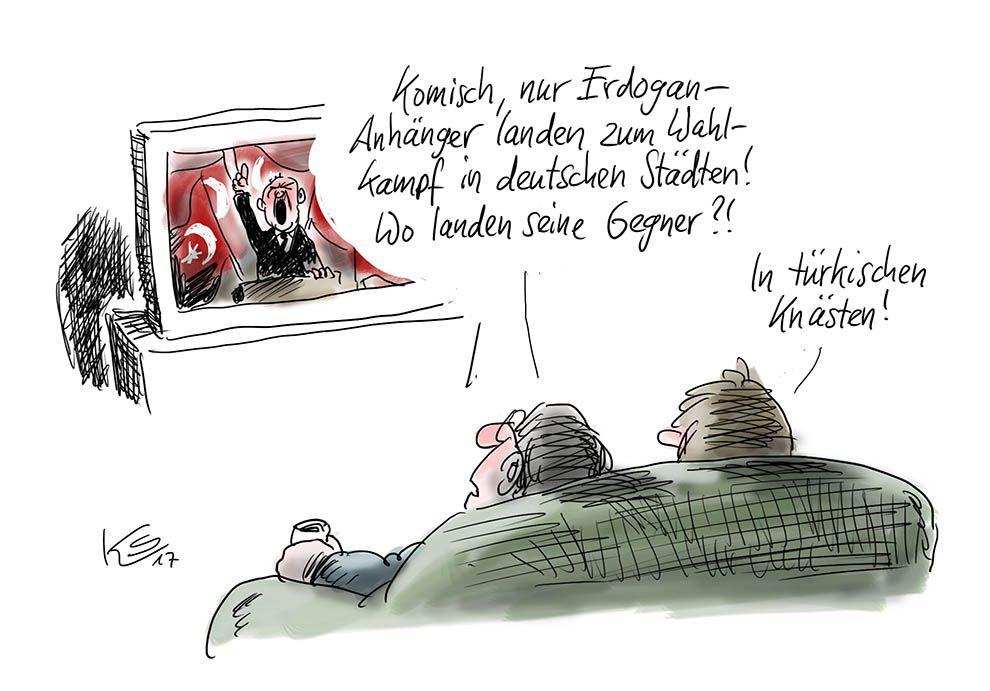 Wahlkampf von Erdogan: Und wo seine Gegner zu finden sind