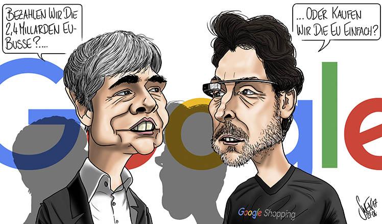 Google kauft die EU