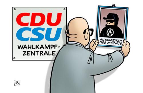 CDU/CSU - Mitarbeiter des Monats